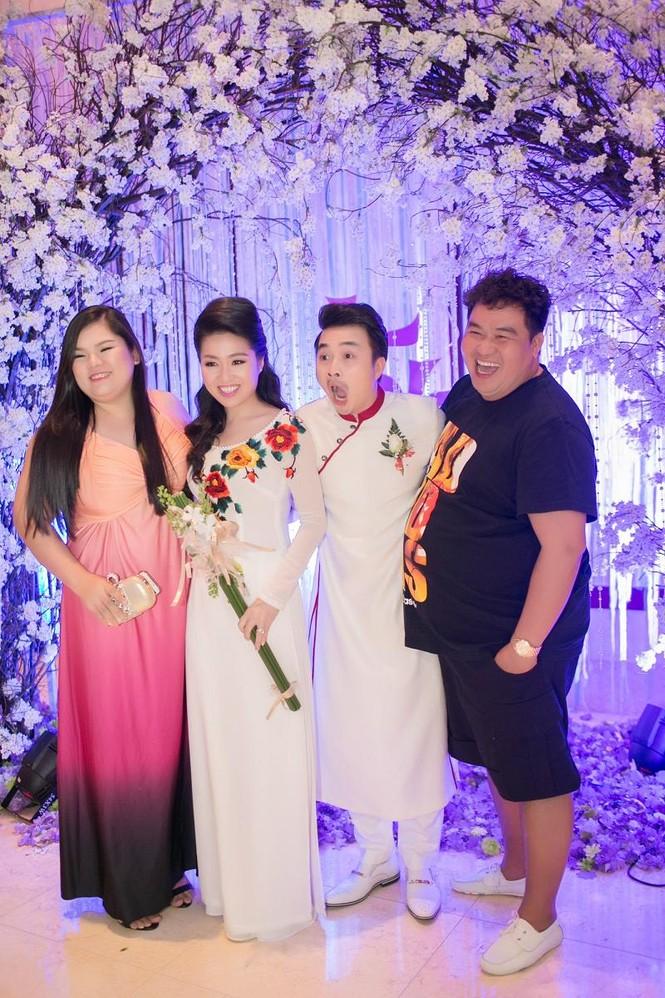 Sao Việt nhí nhảnh dự đám cưới Lê Khánh - ảnh 12