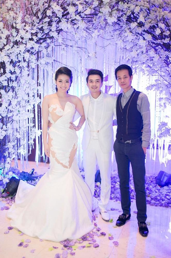 Sao Việt nhí nhảnh dự đám cưới Lê Khánh - ảnh 13