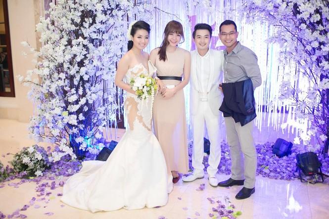 Sao Việt nhí nhảnh dự đám cưới Lê Khánh - ảnh 4