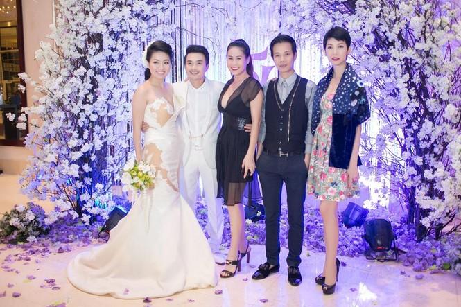 Sao Việt nhí nhảnh dự đám cưới Lê Khánh - ảnh 5