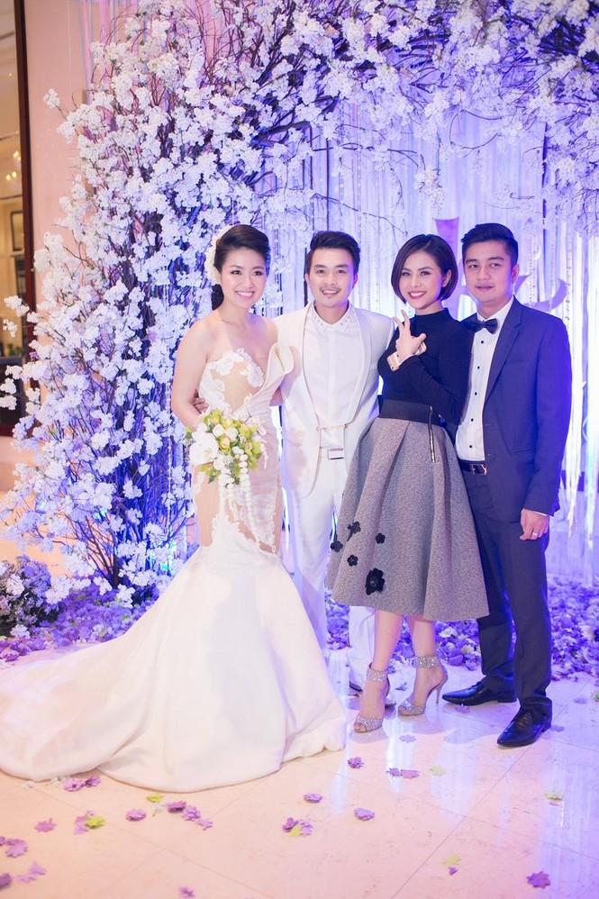 Sao Việt nhí nhảnh dự đám cưới Lê Khánh - ảnh 6