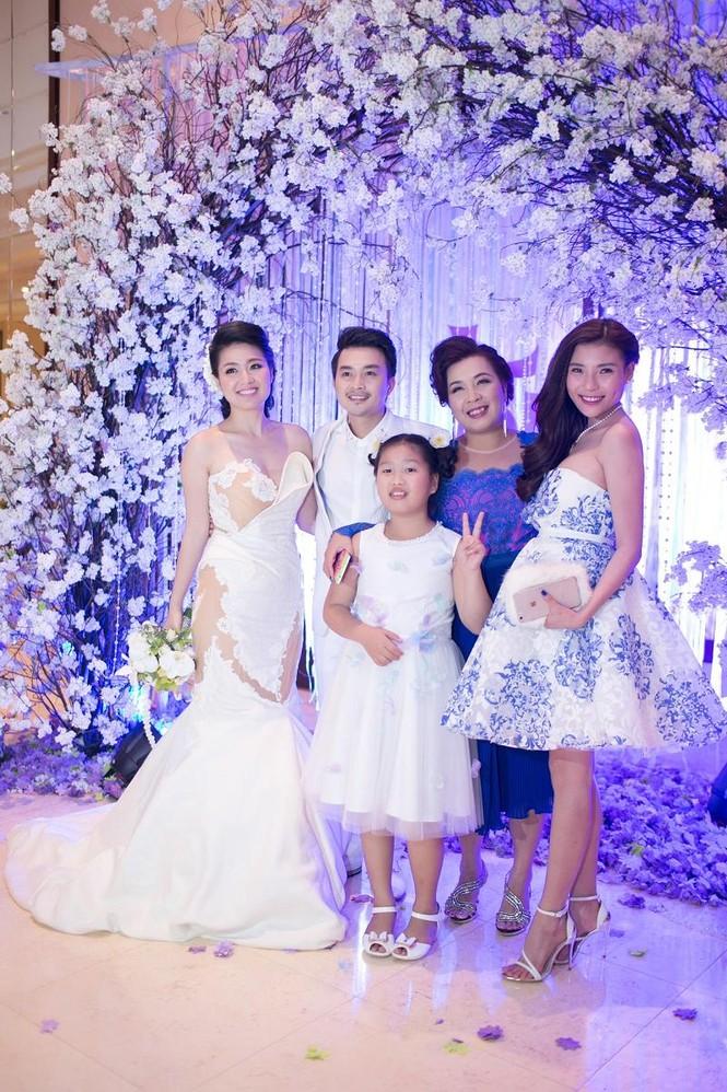 Sao Việt nhí nhảnh dự đám cưới Lê Khánh - ảnh 7