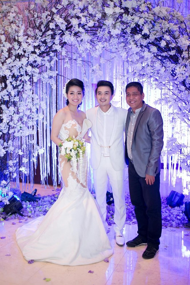 Sao Việt nhí nhảnh dự đám cưới Lê Khánh - ảnh 2