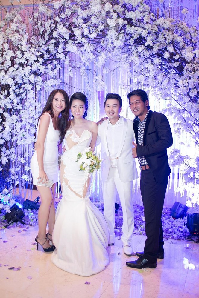 Sao Việt nhí nhảnh dự đám cưới Lê Khánh - ảnh 3