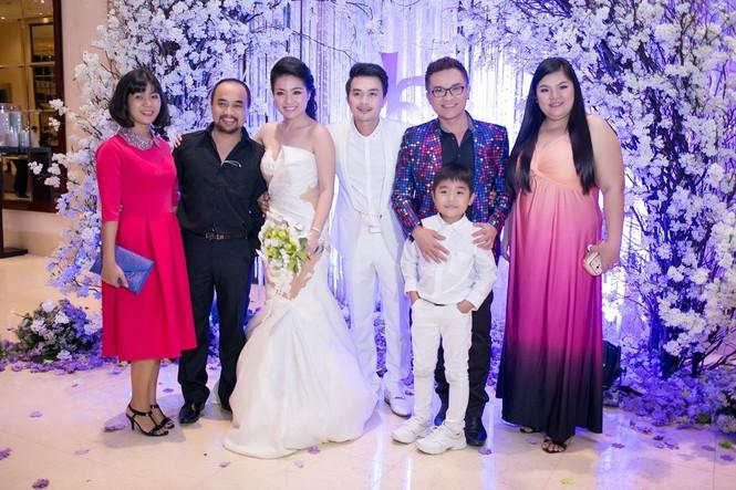 Sao Việt nhí nhảnh dự đám cưới Lê Khánh - ảnh 1