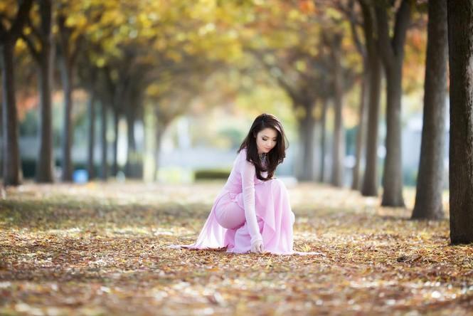 Jennifer Chung đẹp tinh khôi sáng đầu năm với áo dài - ảnh 3