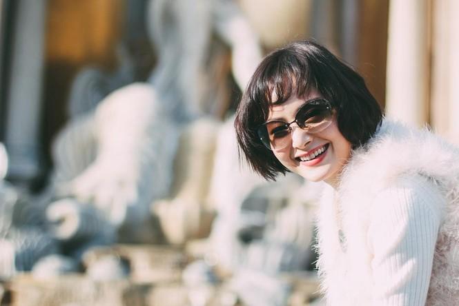 Lan Phương đón năm mới ở Mỹ với tóc tém cá tính - ảnh 4