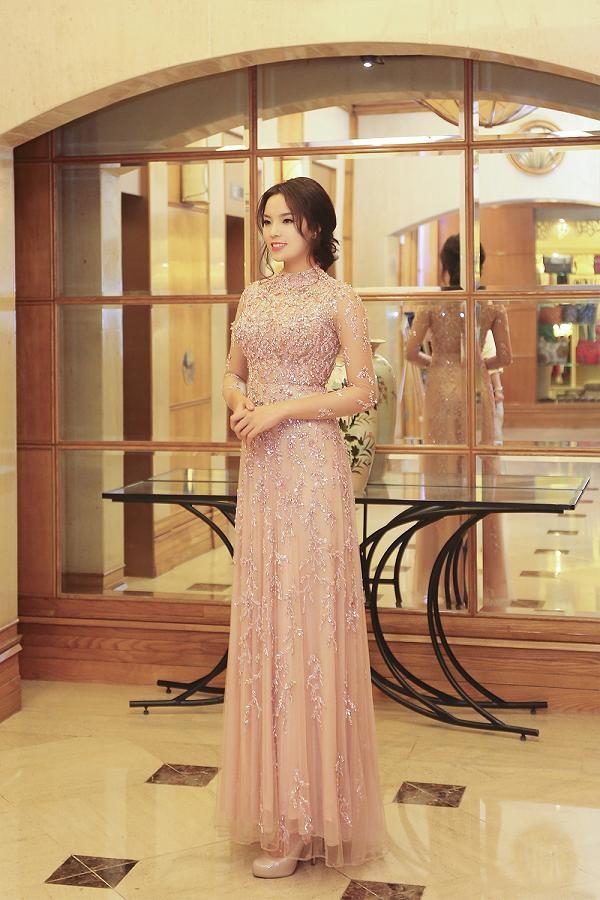 Hoa hậu Kỳ Duyên xinh đẹp đi sự kiện cùng mẹ - ảnh 5