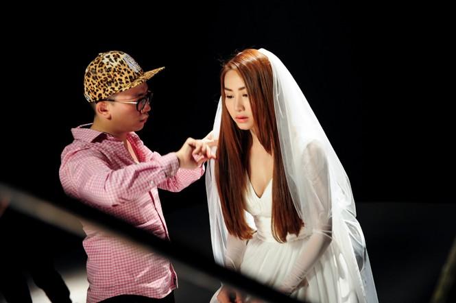 Ngân Khánh làm cô dâu trong MV mới - ảnh 12