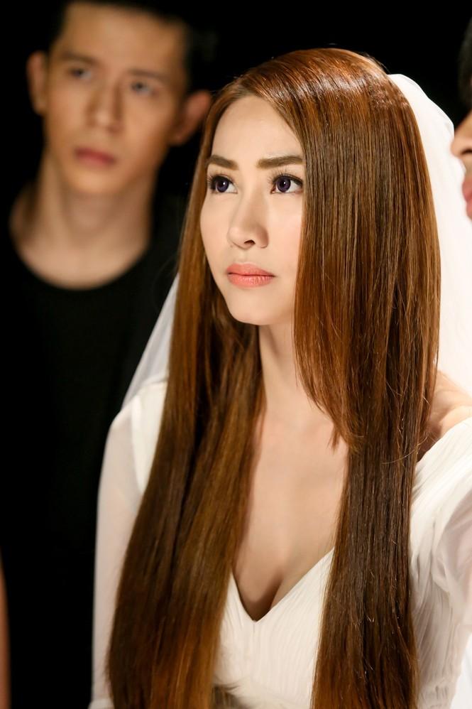 Ngân Khánh làm cô dâu trong MV mới - ảnh 8