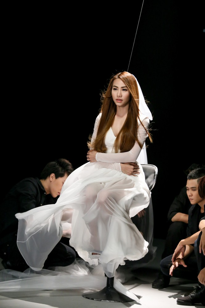 Ngân Khánh làm cô dâu trong MV mới - ảnh 9