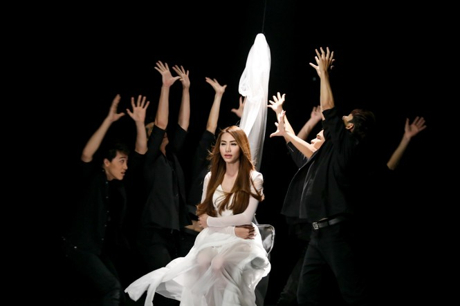 Ngân Khánh làm cô dâu trong MV mới - ảnh 6
