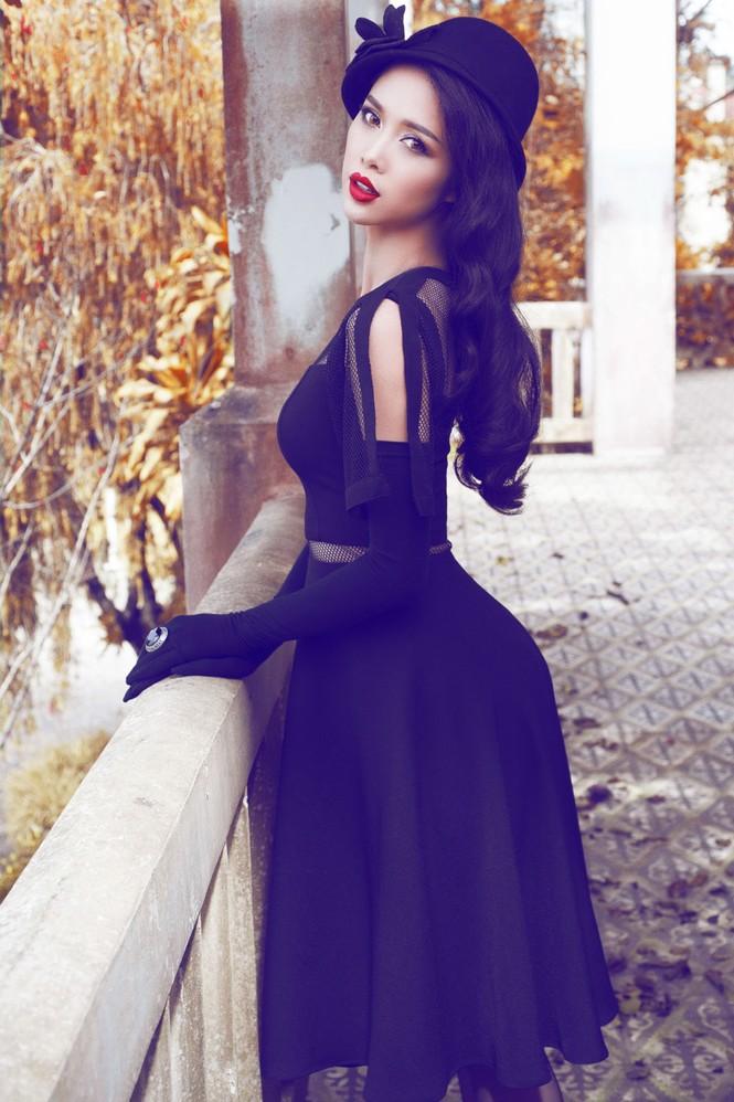 Vũ Ngọc Anh quyến rũ với trang phục mùa đông - ảnh 3