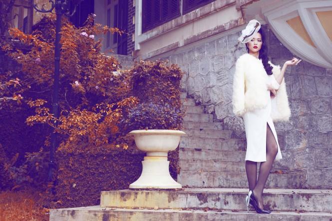 Vũ Ngọc Anh quyến rũ với trang phục mùa đông - ảnh 6