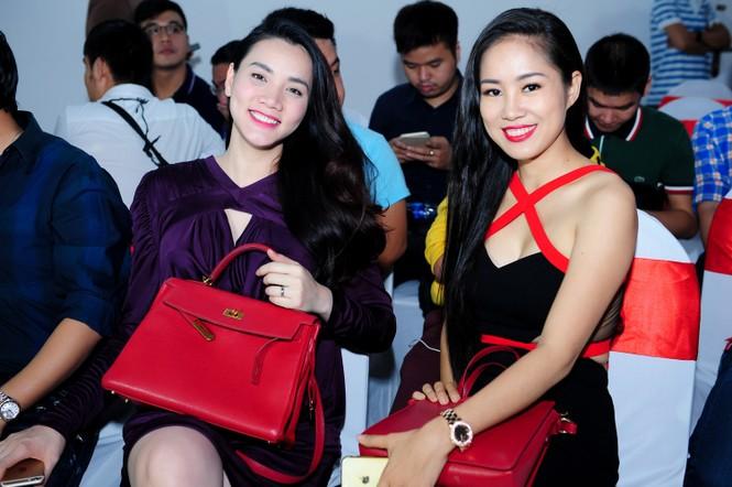 Trang Nhung 'vác' bụng bầu đi sự kiện - ảnh 4