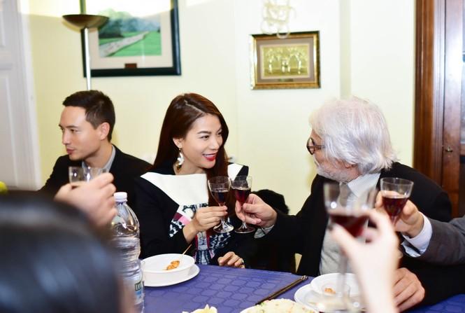Trương Ngọc Ánh, Mr. Đàm gặp gỡ ngôi sao điện ảnh Italy - ảnh 2