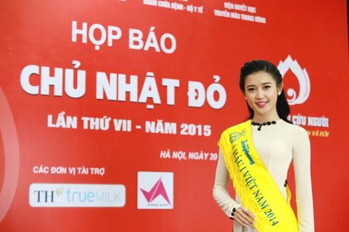 Các Hoa hậu, Á hậu hào hứng hiến máu cho ngày Chủ Nhật Đỏ - ảnh 10