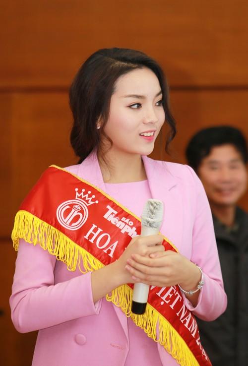 Các Hoa hậu, Á hậu hào hứng hiến máu cho ngày Chủ Nhật Đỏ - ảnh 6