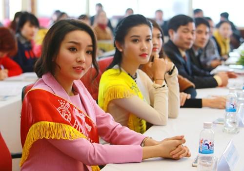 Các Hoa hậu, Á hậu hào hứng hiến máu cho ngày Chủ Nhật Đỏ - ảnh 3