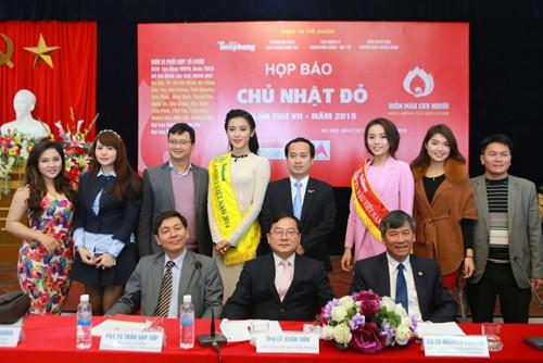 Các Hoa hậu, Á hậu hào hứng hiến máu cho ngày Chủ Nhật Đỏ - ảnh 2