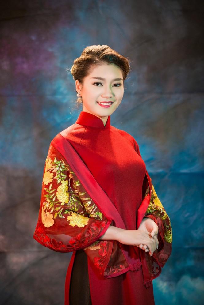 Người đẹp Thanh Tú, Kiều Anh duyên dáng với áo dài - ảnh 7