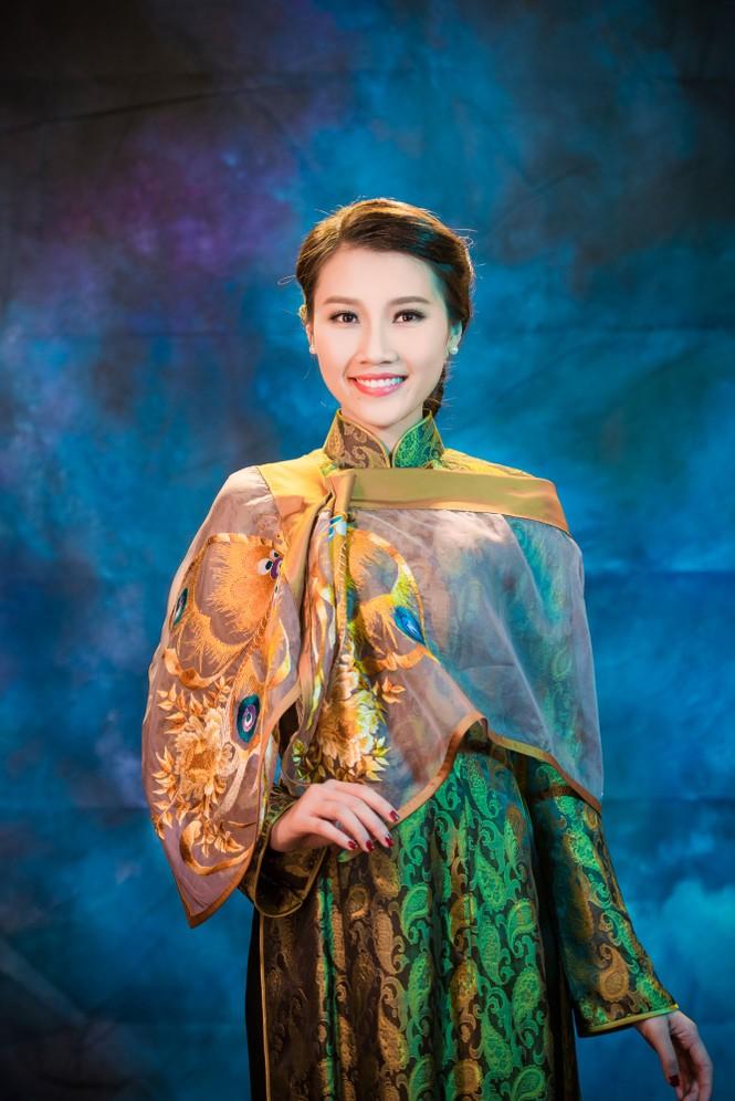 Người đẹp Thanh Tú, Kiều Anh duyên dáng với áo dài - ảnh 5