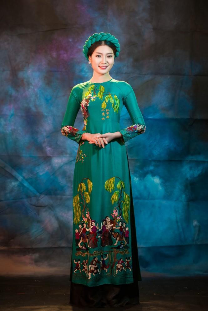 Người đẹp Thanh Tú, Kiều Anh duyên dáng với áo dài - ảnh 8