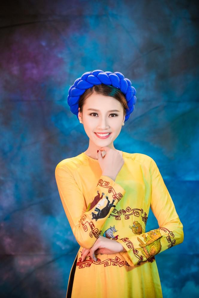 Người đẹp Thanh Tú, Kiều Anh duyên dáng với áo dài - ảnh 4