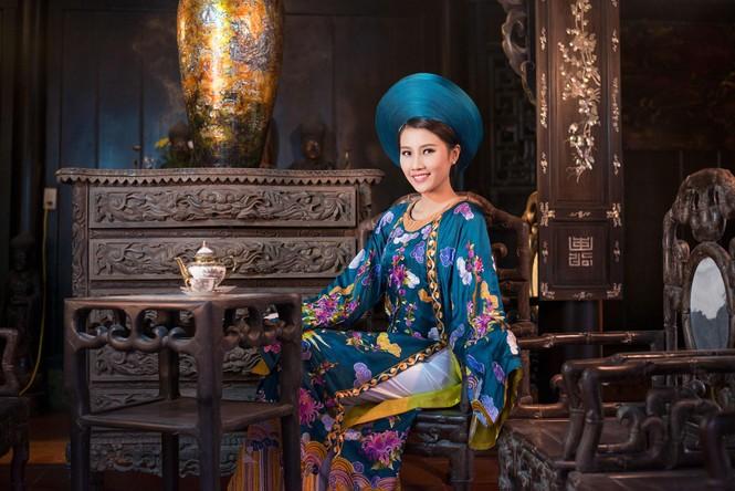 Người đẹp Thanh Tú, Kiều Anh duyên dáng với áo dài - ảnh 6