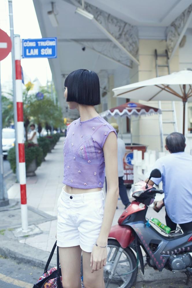 Cô nàng cao kều của Next Top Model cực 'chất' với street style - ảnh 9