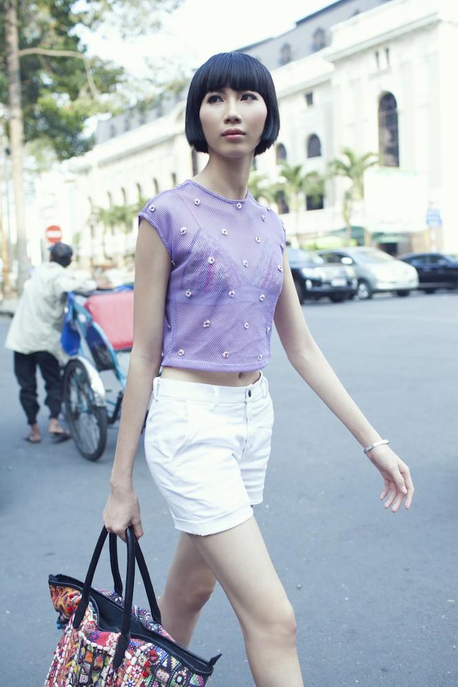 Cô nàng cao kều của Next Top Model cực 'chất' với street style - ảnh 8