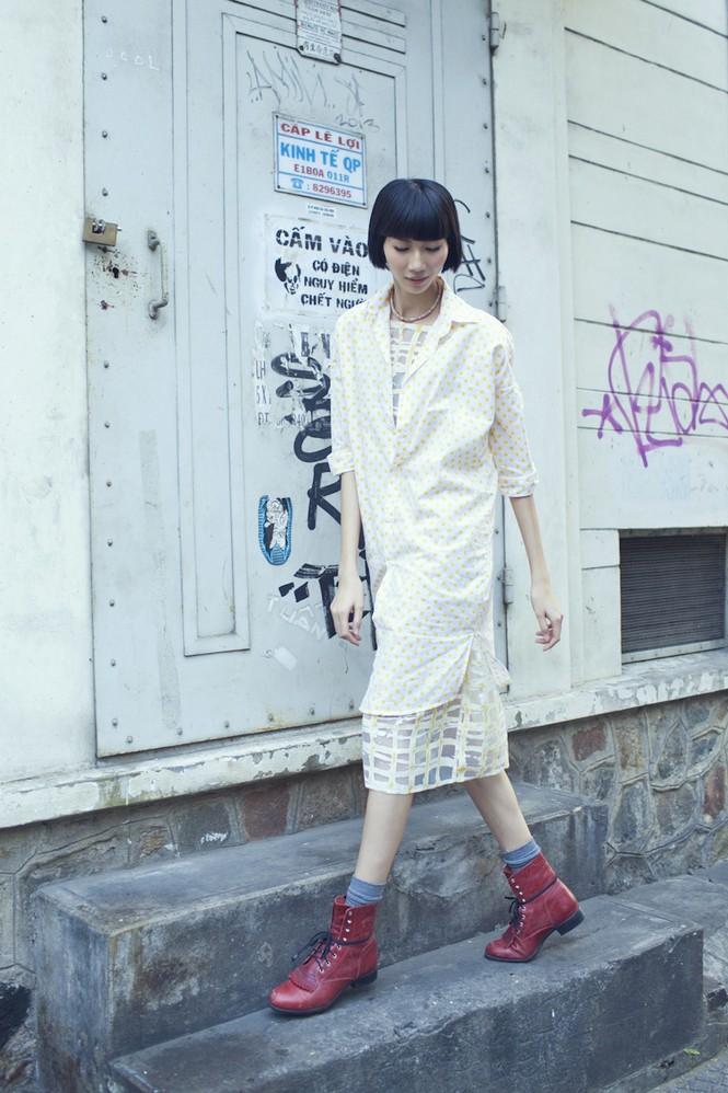 Cô nàng cao kều của Next Top Model cực 'chất' với street style - ảnh 5