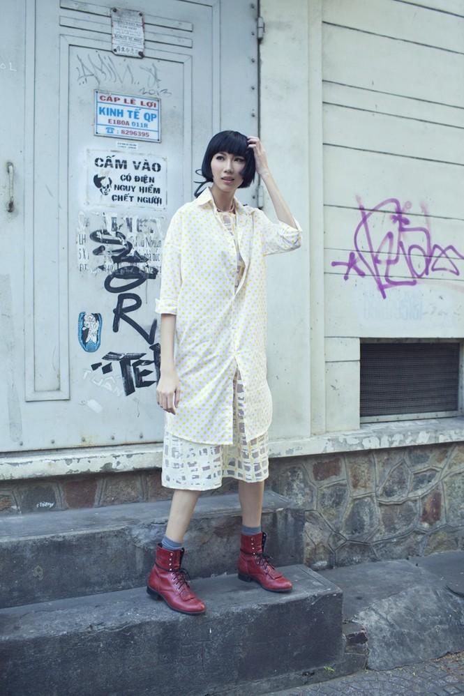 Cô nàng cao kều của Next Top Model cực 'chất' với street style - ảnh 3