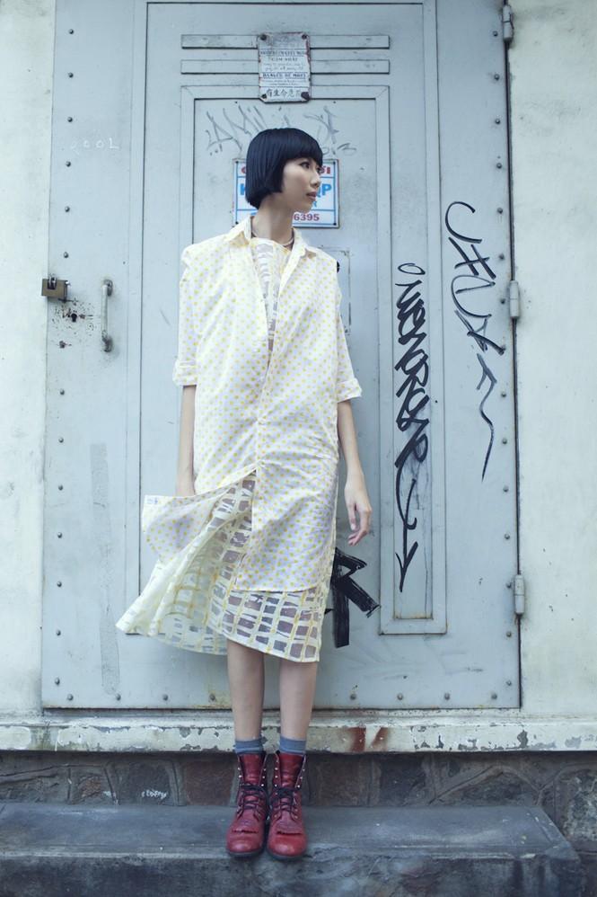 Cô nàng cao kều của Next Top Model cực 'chất' với street style - ảnh 4