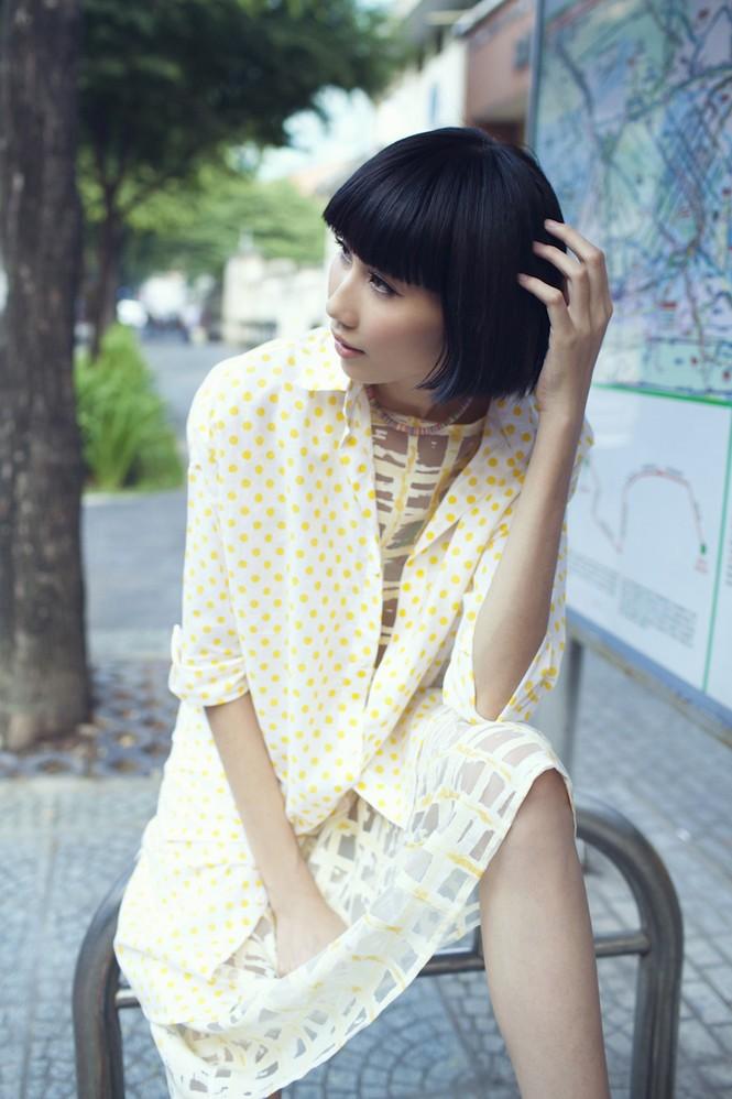 Cô nàng cao kều của Next Top Model cực 'chất' với street style - ảnh 1