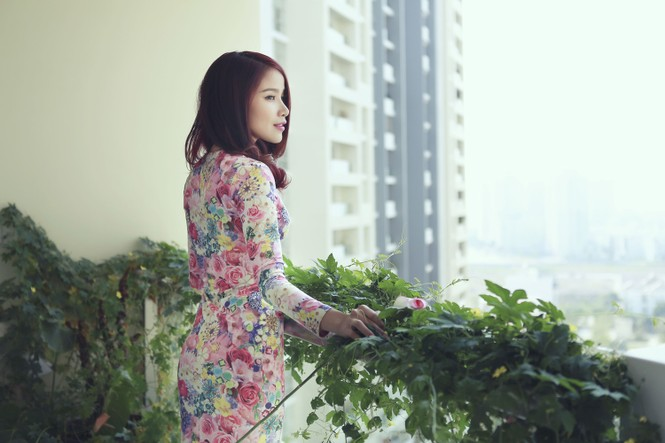 'Bà mẹ đơn thân' Bảo Trúc khoe vòng một quyến rũ - ảnh 5