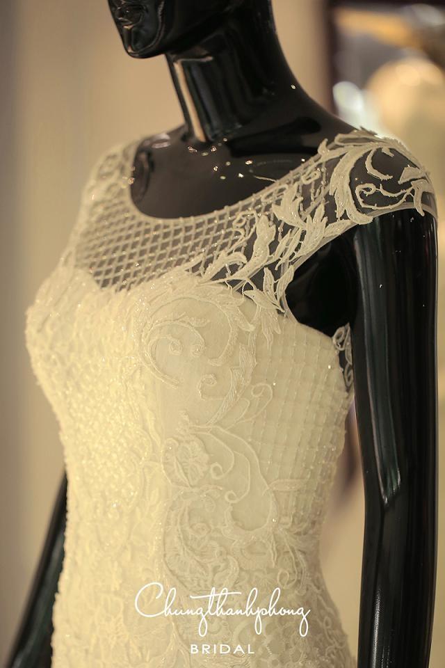 Ngắm 4 bộ váy lộng lẫy Trúc Diễm sẽ mặc trong hôn lễ - ảnh 5