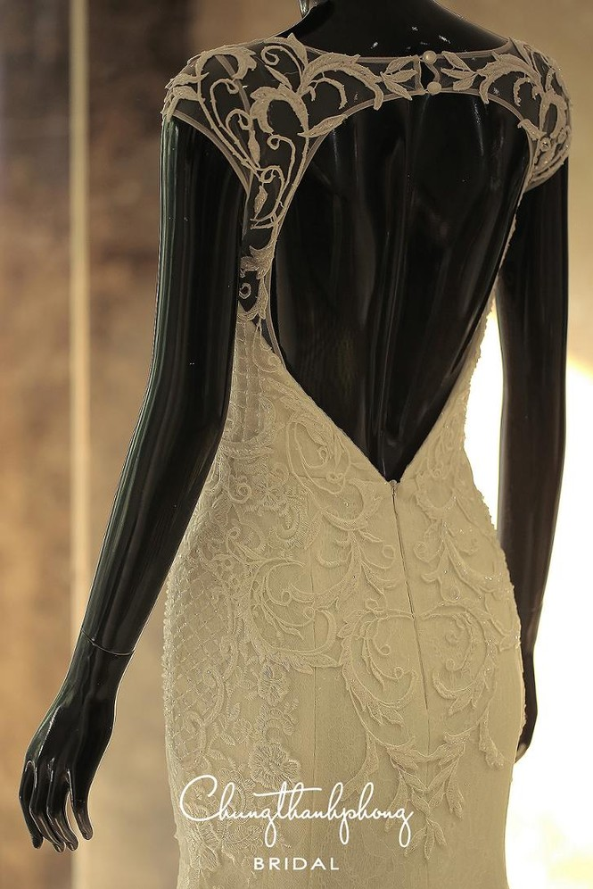 Ngắm 4 bộ váy lộng lẫy Trúc Diễm sẽ mặc trong hôn lễ - ảnh 6