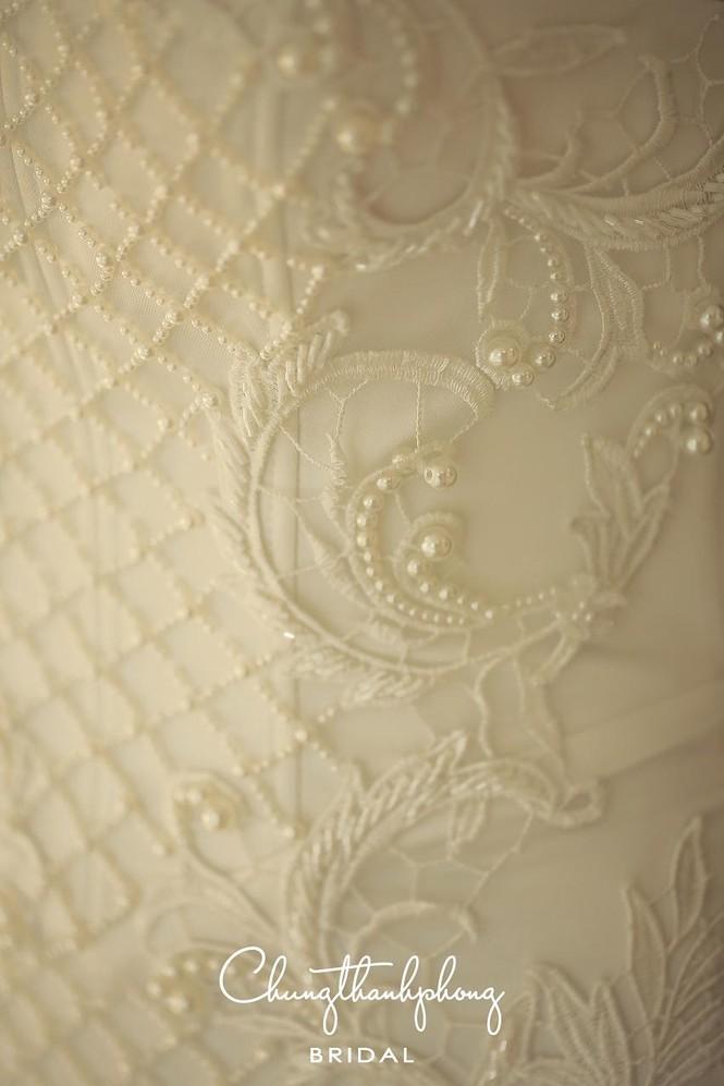 Ngắm 4 bộ váy lộng lẫy Trúc Diễm sẽ mặc trong hôn lễ - ảnh 7