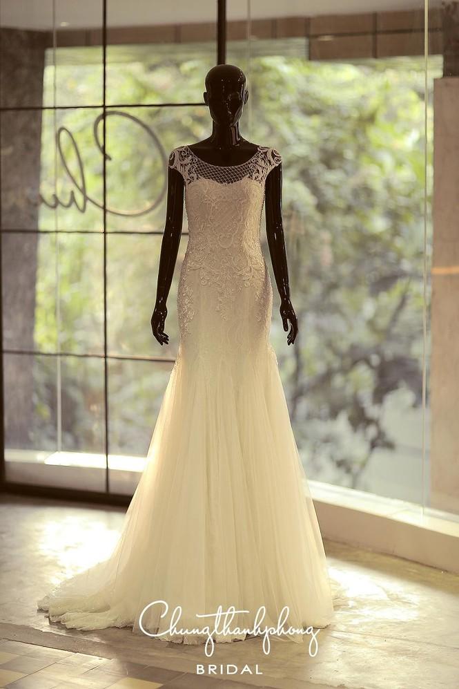 Ngắm 4 bộ váy lộng lẫy Trúc Diễm sẽ mặc trong hôn lễ - ảnh 9