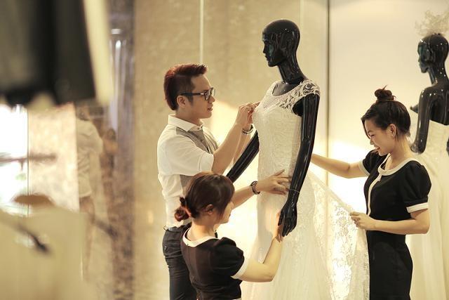 Ngắm 4 bộ váy lộng lẫy Trúc Diễm sẽ mặc trong hôn lễ - ảnh 4