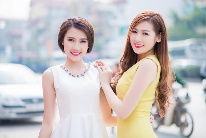 Á hậu Tú Anh, người đẹp Thanh Tú thân thiết như chị em - ảnh 9