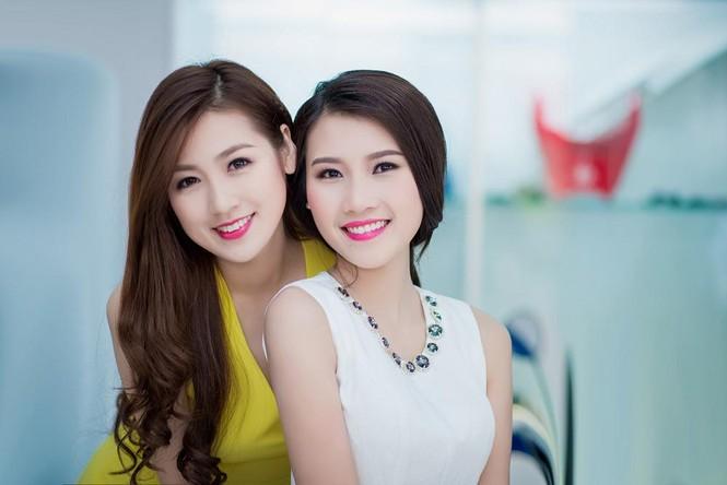 Á hậu Tú Anh, người đẹp Thanh Tú thân thiết như chị em - ảnh 1