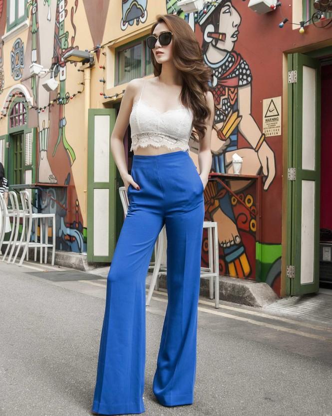 Khánh My khoe đường cong quyến rũ trên đường phố Singapore - ảnh 10