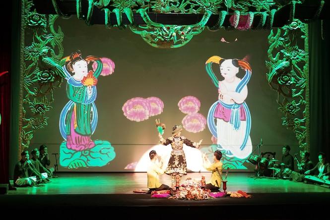 Lễ chào mừng 'Tín ngưỡng thờ Mẫu' là di sản văn hóa nhân loại - ảnh 1