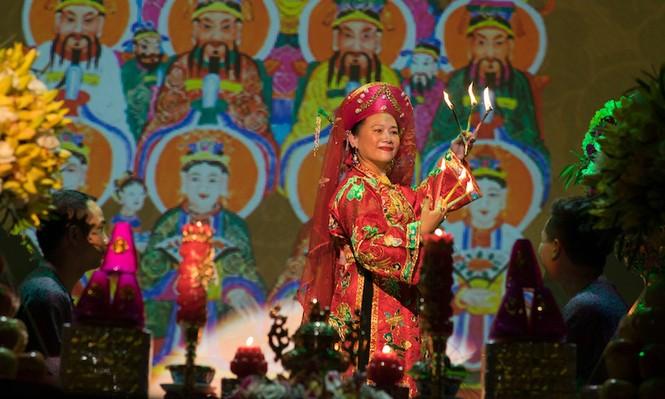 Lễ chào mừng 'Tín ngưỡng thờ Mẫu' là di sản văn hóa nhân loại - ảnh 5