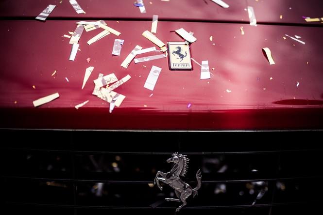 Dàn siêu xe hoành tráng trong lễ rước dâu của Hoa hậu Thu Ngân - ảnh 3