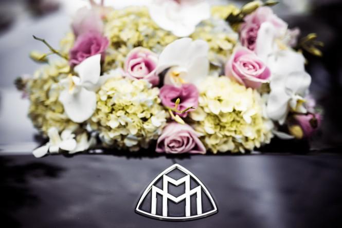 Dàn siêu xe hoành tráng trong lễ rước dâu của Hoa hậu Thu Ngân - ảnh 6