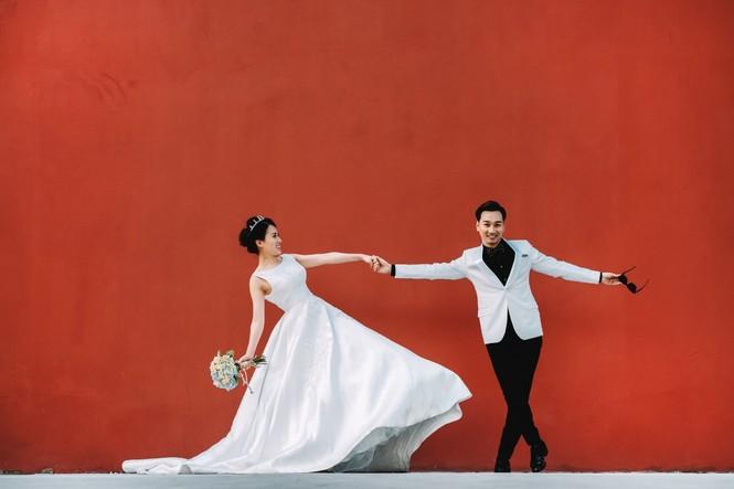 ảnh cưới mc thành trung - ảnh 2