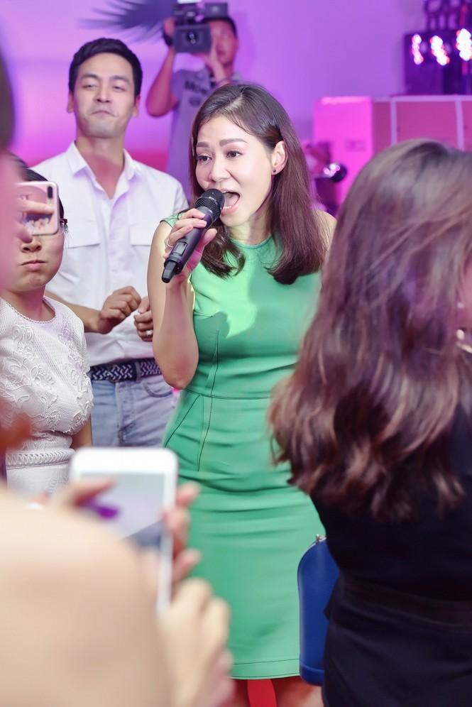 Xuân Bắc, MC Phan Anh hào hứng múa phụ hoạ cho Thu Minh - ảnh 5